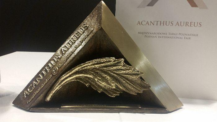 Statuetka Acanthus Aureus dla Gala Collezione