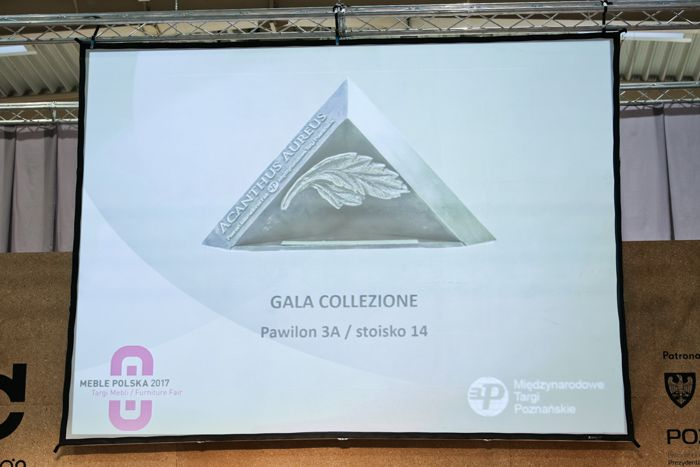 Medal Acanthus Aureus dla Gala Collezione