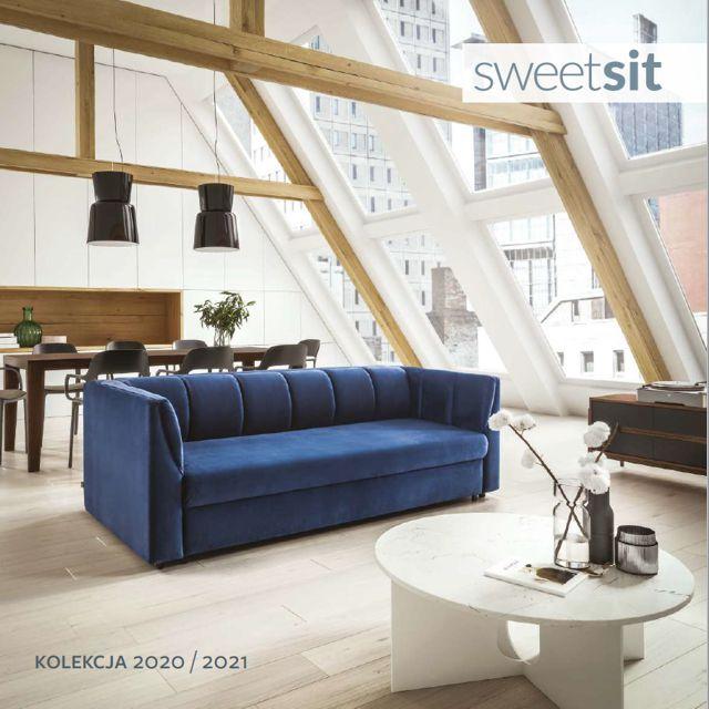 Katalog mebli tapicerowanych marki Sweet Sit - kolekcja 2021