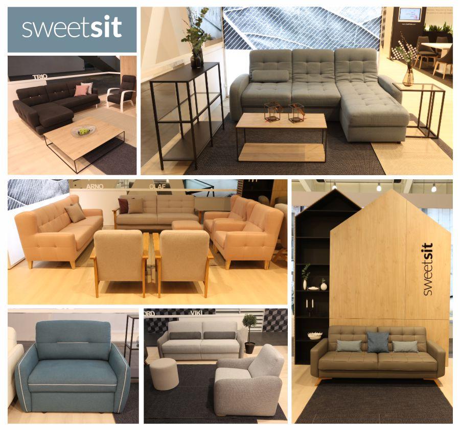 Nowe kolekcje mebli marki Sweet Sit pokazane na targach MEBLE POLSKA 2017
