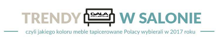 Trendy w salonie czyli jakiego koloru meble tapicerowane Polacy wybierali w 2017 roku
