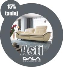 Lipcowa promocja - sofa Asti marki Gala Collezione 15 procent taniej